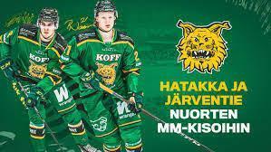 Ilveksen Roby Järventielle ja Santeri Hatakalle U20 MM-pronssia