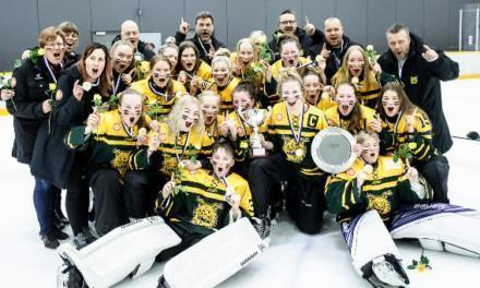 Ringeten B-junioreille Suomen mestaruus