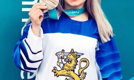 Lämpimät onnittelut Linda Välimäelle Olympia pronssimitalista!